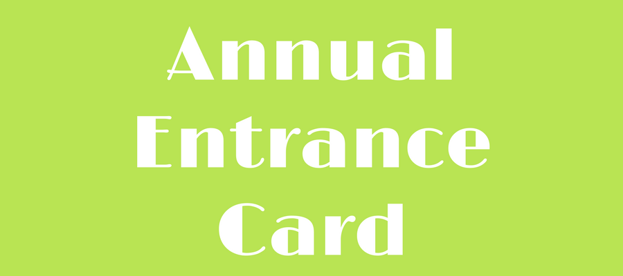 Annual Entrance Card