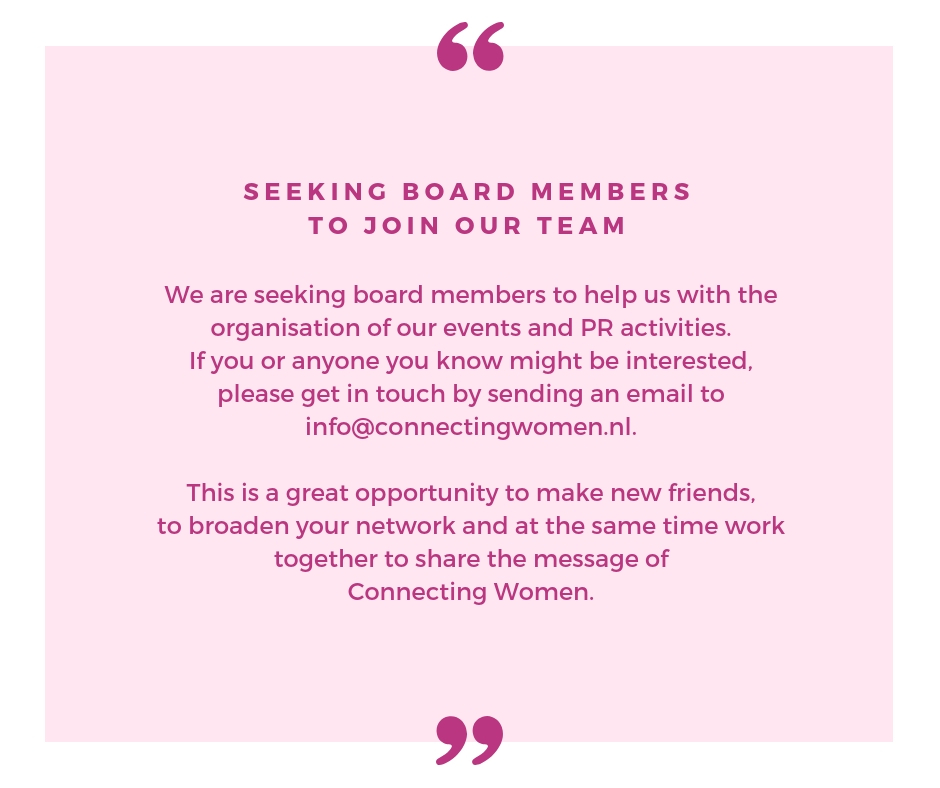 Seeking Board Members